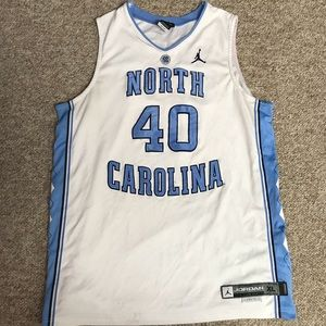 Vintage North Carolina Tar Heel Jordan jersey XL